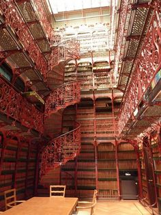 Love the staircases in this Dutch library