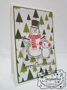 Stampin' Up! by Stampin Jacqueline: Snow Place & Snow Friends