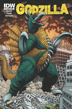 Terrifying New Monsters Rise in… GODZILLA: RULERS OF EARTH!