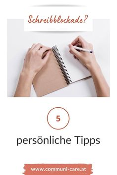 Sie kann jeden treffen: die Schreibblockade. Auch Texter. Im Blogartikel verrate ich dir meine 5 Strategien, um einer Schreibblockade nach Möglichkeit gleich von vornherein vorzubeugen. Content Marketing, Planer, Mindset, Learning To Write, Writer's Block, Blog Topics, Attitude, Inbound Marketing