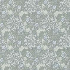 The wallpaper Seaweed - from William Morris is wallpaper with the dimensions m x 10 m. The wallpaper Seaweed - belongs to the popular William Morris Tapet, William Morris Wallpaper, Morris Wallpapers, Fabric Wallpaper, Wallpaper Roll, Wall Wallpaper, Pattern Wallpaper, Paisley Wallpaper, Accent Wallpaper