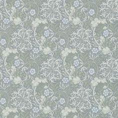 William Morris Seaweed Wallpaper 214737