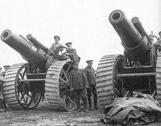 Howitzers of the Royal Garrison Artillery