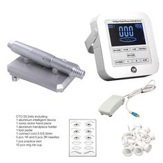 ==> [Free Shipping] Buy Best Tattoo Machine Kit set digital Permanent Makeup Tattoo device kit Professional Siwss Motor Tattoo Power Supply for Eyebrow Lip Online with LOWEST Price   32318201703