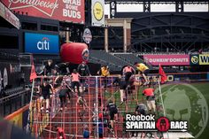 Could you get over this net?  These Spartans can! #SpartanStrong #SpartanRace #Fitness