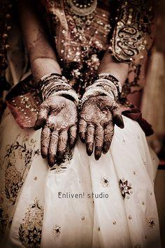 Indian Bride Henna tattoo