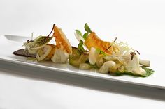 Adam Longworth's Artichoke Salad With Black Olive - The Chefs Connection #chefs #salad