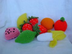 Fruit Play Food Crochet