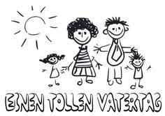 Vatertag Ausmalbild 1: Bilder kostenlos downloaden & ausmalen - Ideen zum Vatertag auf: http://babyduda.com/vatertag-ausmalbilder-bilder-kostenlos-downloaden-ausmalen/