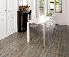 Wooden Glue Down Kitchen Vinyl Tile Flooring.