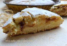 Era da un po' che volevo fare la Torta Pasticciotto alla crema e cioccolato!!!tutta la dolcezza della crema,racchiusa in un guscio di tenera frolla !!