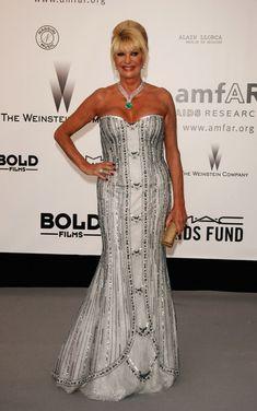 Ivana Trump - Cannes - Arrivals At Cinema Against AIDS 2007 Benefiting amfAR