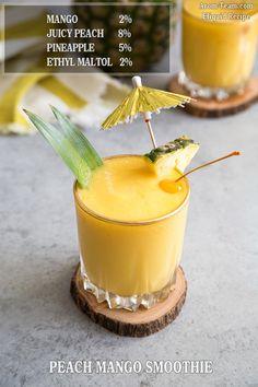 Peach Mango Smoothie eliquid recipe diy #vape #ecig #eliquid