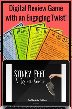 The absolute best review game for elementary school! Stinky Feet is high on student engagement while staying rigorous in content. These digital PowerPoint games are perfect for math review as you finish each unit or at the end of the year when reviewing for your standardized test. Your classroom has never been more fun than when using this interactive, cooperative review game!