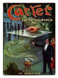 AP101 - George Carter, Vintage Magic Poster (30x40cm Art Print)