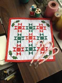 Darla E. Kavanaugh - Ohio Star quilt; sold on ebay for $21.95