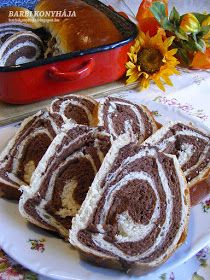Kiev Cake, Bread Recipes, Cooking Recipes, Jewish Apple Cakes, Striped Cake, Jordan Almonds, Hungarian Recipes, Bread Rolls, Winter Food