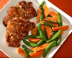 Panko bread crumbs give a golden crust to boneless, skinless chicken thighs while horeradish gives the taste a bit of zing.