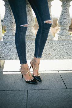Sole Society Tiia Studded Heels