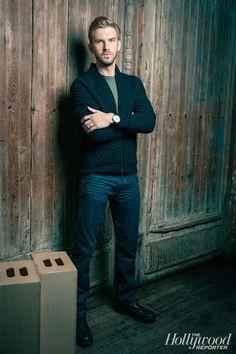 Dan Stevens for The Hollywood Reporter #TIFF