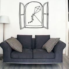 The Home Decor Guru – Interior Design For Bedrooms Home Decor Bedroom, Bedroom Wall, Room Decor, Wall Decor, Washi Tape Wall, Doodle Wall, Deco Cool, Wall Drawing, Window Wall
