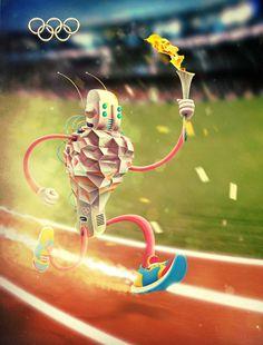 15 Ilustrações criativas por Aleksey Baydakov | Criatives | Blog Design, Inspirações, Tutoriais, Web Design