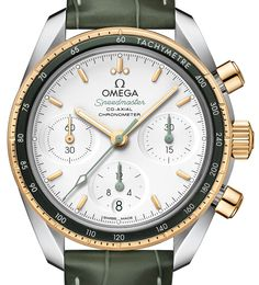 Omega released fourteen new 38mm Speedmaster watches at BaselWorld 2017. Materials and color choices will separate the men's and women's pieces. Read about them on our site and more live coverage coming. @omega http://www.ablogtowatch.com/omega-speedmaster-38mm-watches-2017/