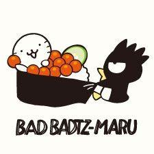 Bad-Badtz Maru #sushi ☆〜(ゝ。∂) バッドばつ丸 ばつ丸寿司デザインシリーズ