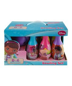 Another great find on #zulily! Doc McStuffins Bowling Set by Doc McStuffins #zulilyfinds