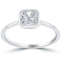 Radiant Platinum Very Good Cut Diamond Engagement Rings Wedding Engagement, Diamond Engagement Rings, Diamond Stores, Radiant Cut, Fine Jewelry, Jewels, Gold, Clarity