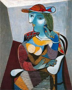 Pablo Picasso, Portrait of Marie Therese Walter, 1937