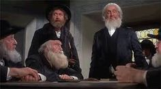 The Frisco Kid 1979. Gene Wilder and Leo Fuchs as the Chief Rabbi.
