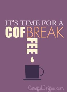 Have you had your #coffee break?