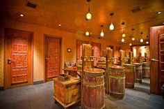 Some of my favorite restaurant bathrooms. MIE N YU RESTAURANT, WASHINGTON DC: These restrooms were inspired by a Singapore flea market.