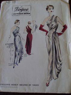 Evening Dress Vogue 599