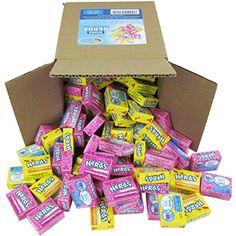 Nerds Candy - Wonka Nerds Mini Boxes, Strawberry and Lemonade Wild Cherry Assortment, LB Box Bulk Candy (Approx. Bulk Candy, Candy Shop, Candy Themed Bedroom, Nerds Rope, Gourmet Lollipops, Nerds Candy, Cool Fidget Toys, Candy Dispenser, Party Mix