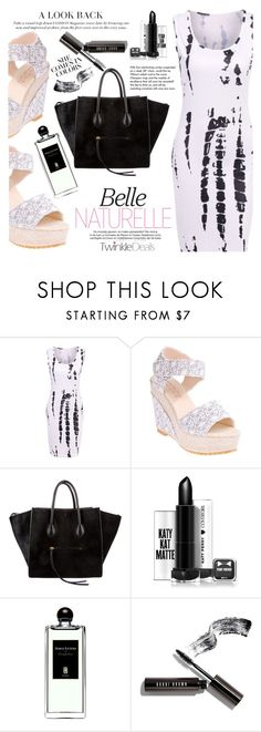 """""""Black and White"""" by vanjazivadinovic ❤ liked on Polyvore featuring CÉLINE, Tiffany & Co., Serge Lutens, Bobbi Brown Cosmetics, polyvoreeditorial, Poyvore and twinkledeals"""