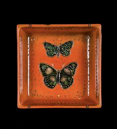 Rut Bryk; Glazed Ceramic Dish,1950s.