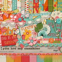 You Are My Sunshine kit by Neia Arantes