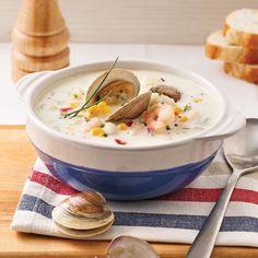 Chaudrée de fruits de mer - Je Cuisine