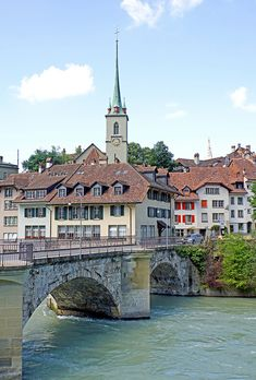 Switzerland-03171 - Untertorbrucke bridge | by archer10 (Dennis) 145M Views Bridges, Switzerland, Medieval, My Photos, Old Things, Mansions, Country, House Styles, City
