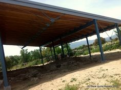 Año 2015: Sector Norte de la Mansión/Posada Romana de Miaccum Madrid, Pergola, Outdoor Structures, Romans, Norte, Outdoor Pergola, Arbors, Pergolas