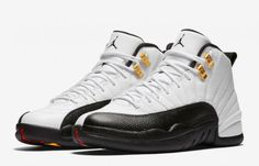 new styles 9f206 12c0a The Air Jordan 12 Taxi (Style Code  comes in a White, Black, Taxi and Varsity  Red color scheme. This Air Jordan 12 Taxi 2018 Retro release date