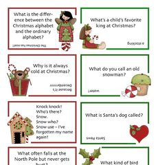 I've had a great response from my Christmas joke lunch notes! Here's another set, this time filled with little messages of love. :) Edite...