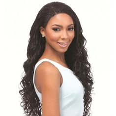 Sensationnel Empress Braided Lace Front Edge Wig SENEGAL LOOSE DEEP (Handmade Braided)