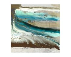 Chelsea Art Studio 'Layers XII' Graphic Art Print Size: H x W, Format: Glass Coat (Giclee Canvas with Glass Coat Finish) Print Format, Studio S, Plexus Products, Graphic Art, Art Pieces, Tapestry, Wall Art, Layers, Artwork