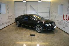 Bentley Continental GT Nero Opaco: prima della lavorazione, dettaglio fiancata
