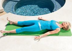 Corpse Pose http://www.prevention.com/fitness/yoga/10-yoga-poses-to-relieve-menopause-symptoms/corpse-pose