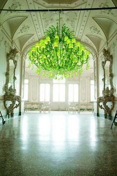 Neon Chandelier by Ital Design Furniture