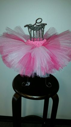 Pink light pink fuchsia and hot pink tutu pink by mamamadebows